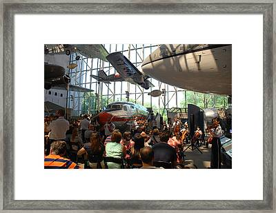 Concert Under The Planes Framed Print