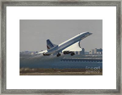 Concorde Framed Print by Tim Holt