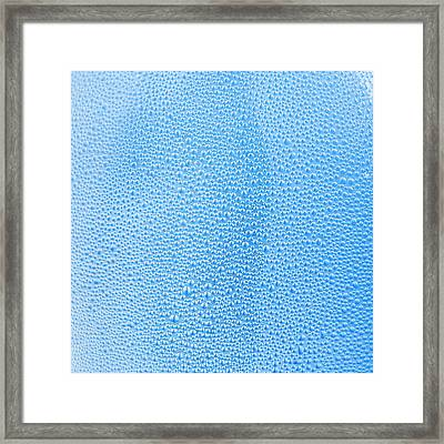 Condensation Framed Print by Science Photo Library
