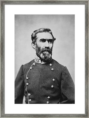 Confederate General Braxton Bragg 1861 Framed Print by Mountain Dreams