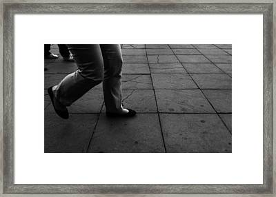 Confusion Framed Print by Lucy D
