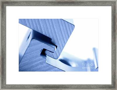 Connecting Tools Framed Print by Michal Bednarek