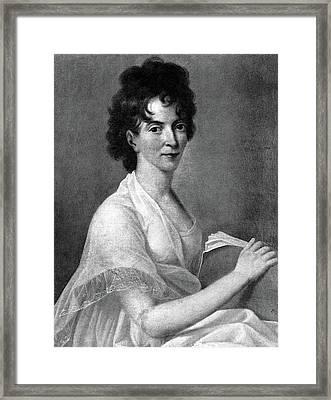 Constanze Weber Mozart (1763-1842) Framed Print by Granger