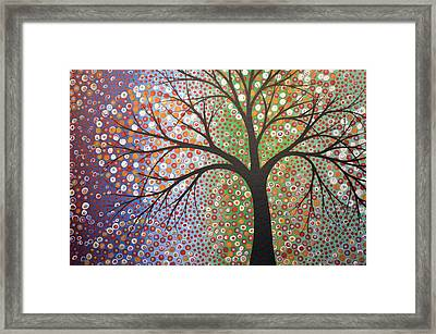 Framed Print featuring the painting Constellations by Amy Giacomelli