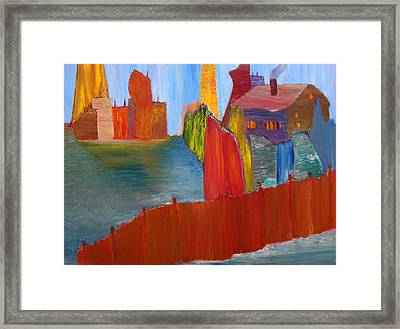 Contrasts Framed Print by Vadim Levin