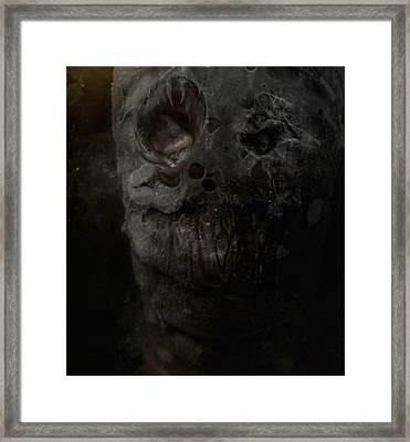 Contusion Framed Print