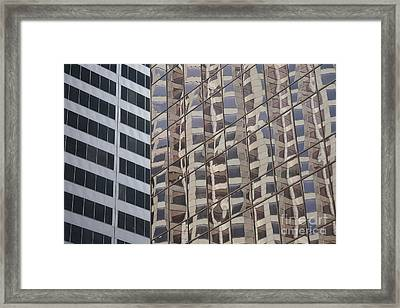 Framed Print featuring the photograph Convergence  by Lynn England