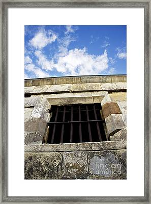 Convict Cell Framed Print by Jorgo Photography - Wall Art Gallery