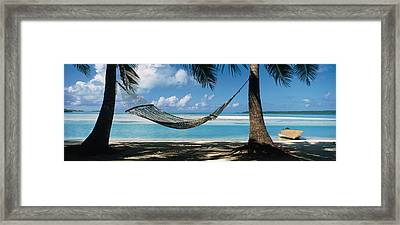 Cook Islands South Pacific Framed Print