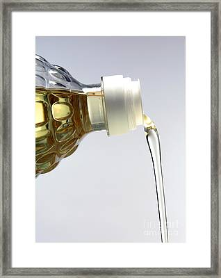 Cooking Oil Framed Print by Victor de Schwanberg