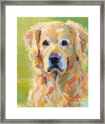 Cooper Framed Print by Kimberly Santini