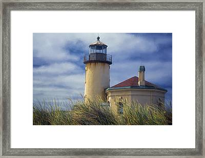 Coquille River Lighthouse II Framed Print