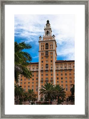 Coral Gables Biltmore Hotel Framed Print