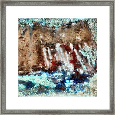 Coral Reef 2 Framed Print by Tom Druin