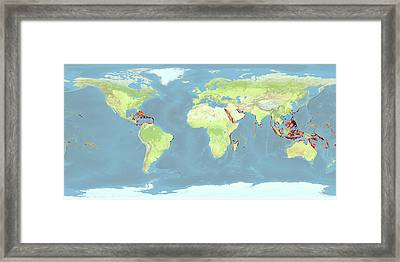 Coral Reefs Under Threat Framed Print by Noaa