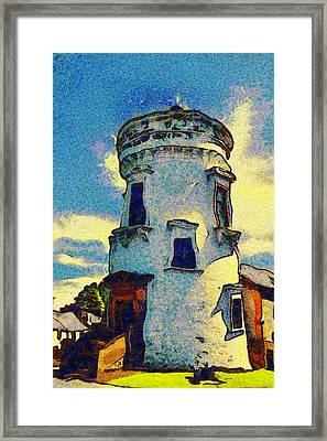 Corbiere Lighthouse Framed Print