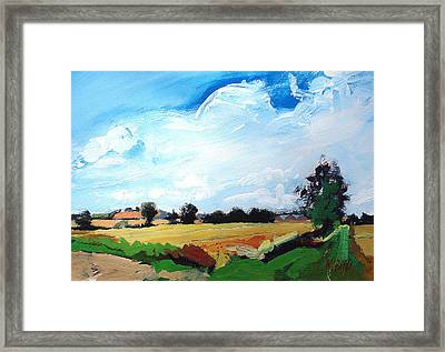 Corner Of Yorkshire Framed Print by Neil McBride