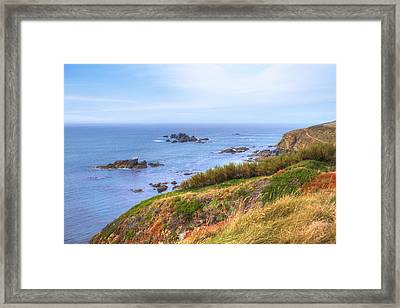 Cornwall - Lizard Framed Print