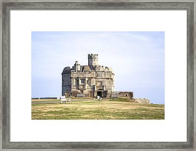 Cornwall - Pendennis Castle Framed Print by Joana Kruse