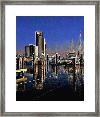 Corpus Christi Texas  Framed Print