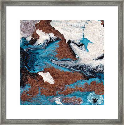 Cosmic Blend One Framed Print by M West