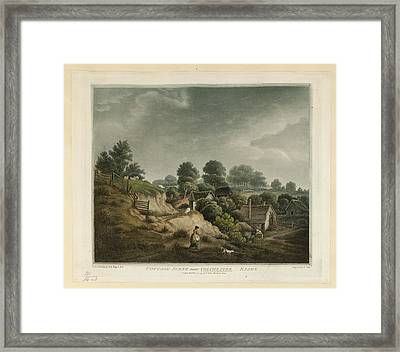Cottage Scene Framed Print