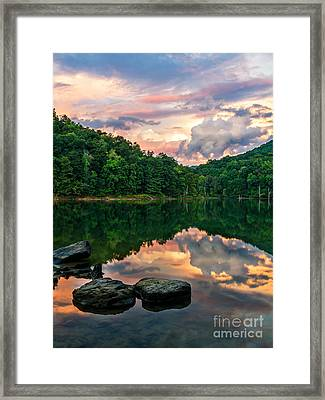 Cotton Candy Framed Print