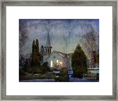 Country Church Framed Print by Jim Wright