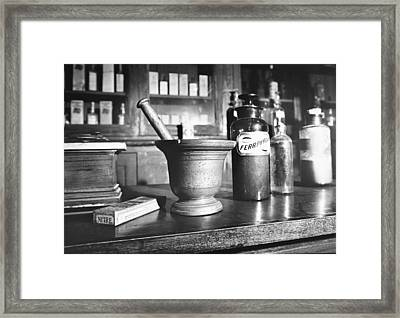 Country Doctor Museum, Bailey, North Framed Print