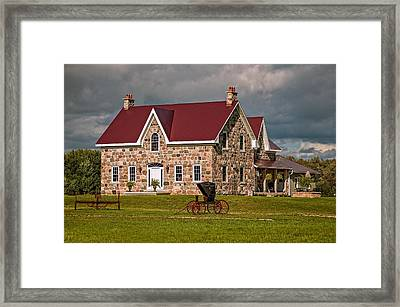 Country Living Framed Print by Steve Harrington