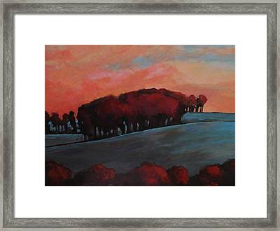Countryside Framed Print by Suzanne Tynes