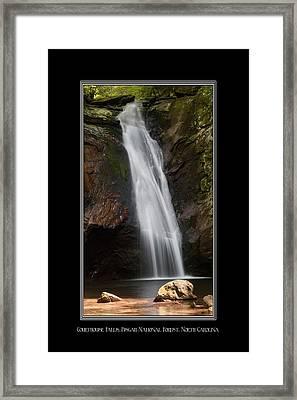 Courthouse Falls North Carolina Framed Print