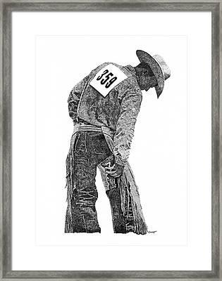 Cowboy 1 Framed Print