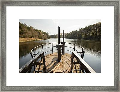 Cowgill Upper Reservoir Framed Print by Ashley Cooper
