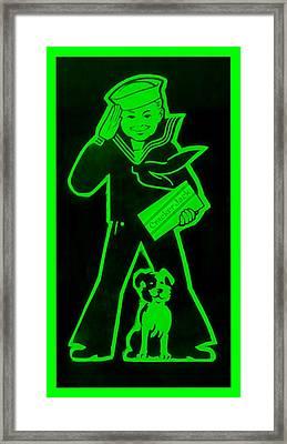 Crackerjack Green Framed Print by Rob Hans