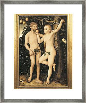 Cranach, Lucas, The Elder 1472-1553 Framed Print by Everett
