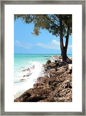 Crash Framed Print by Ryan Burton