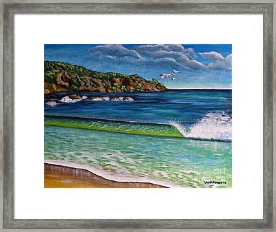 Crashing Wave Framed Print