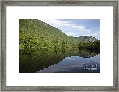 Crawford Notch State Park - White Mountains Nh Usa Framed Print by Erin Paul Donovan