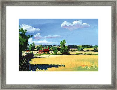Crayke Farm North Yorkshire Framed Print by Neil McBride