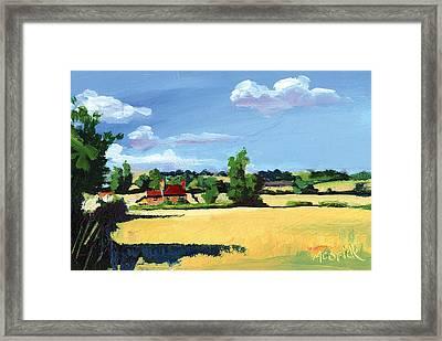 Crayke Farm North Yorkshire Framed Print