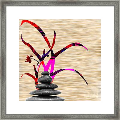Creating Balance Framed Print