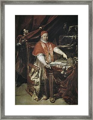 Crespi, Giuseppe Maria 1665-1747 Framed Print by Everett