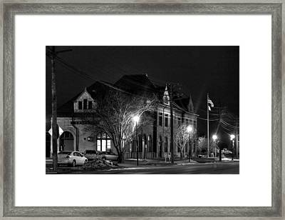 Creston Depot Framed Print