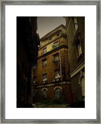 Framed Print featuring the photograph Crime Alley by Salman Ravish