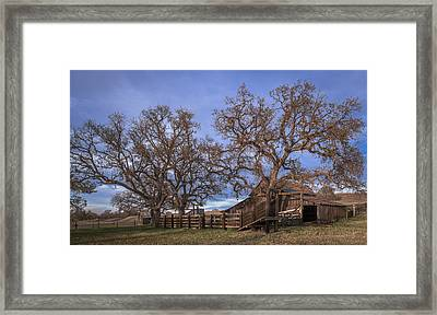 Cripple Creek Barn Framed Print