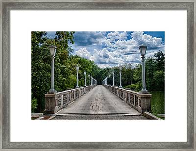 Crossing Over Framed Print by Mike Burgquist