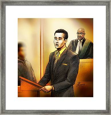 Crown Attorney Stuart Rothman Framed Print