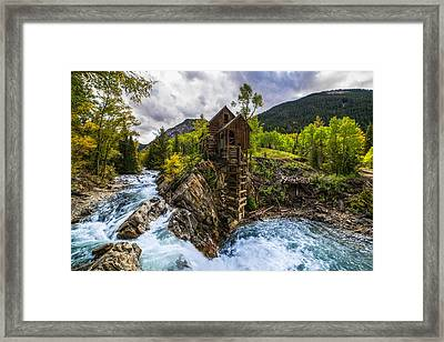 Crystal Mill Co Framed Print by Peter Irwindale