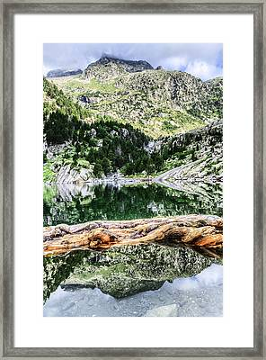 Crystall Water Framed Print